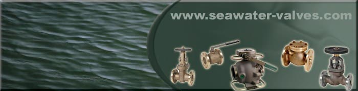 aluminium bronze seawater valves used in marine applications for seawater media